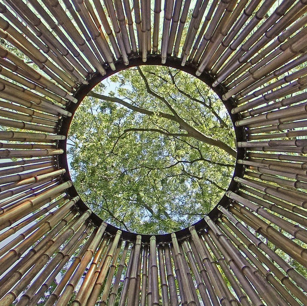 Scénographie en bambou - bambou créations - décor en bambou