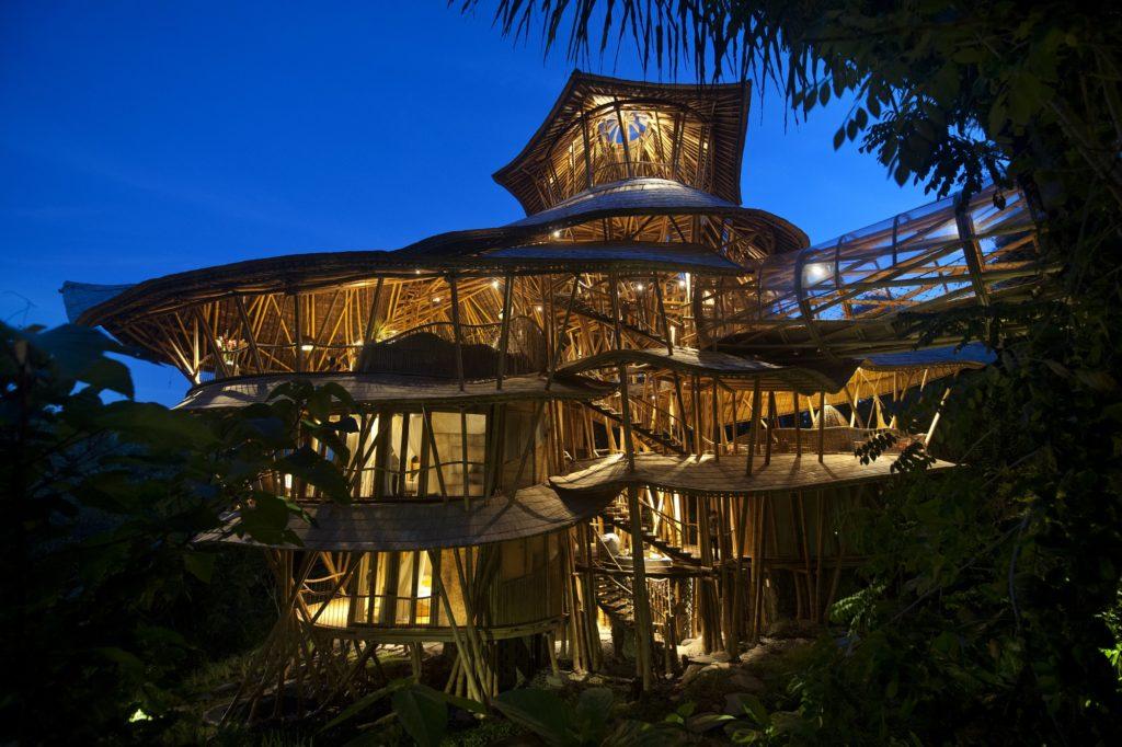 Maison en bambou à Bali - bambou créations