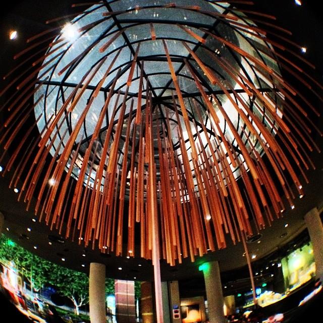Décor intérieur en lamelles de bambou - bambou créations