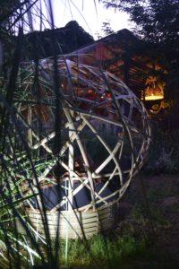 Un espace de détente en bambou en concert ! - Bambou Créations