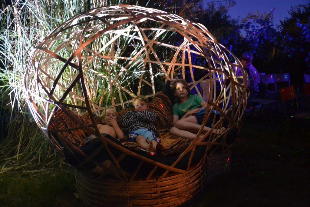 Espace de détente en bambou en concert - Bambou Créations