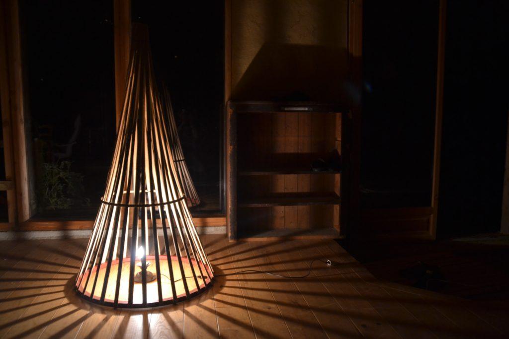 Luminaire Nature sur-mesure - bambou créations
