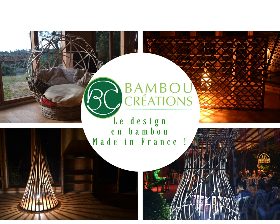 Créations design en bambou, made in France - Bambou Créations