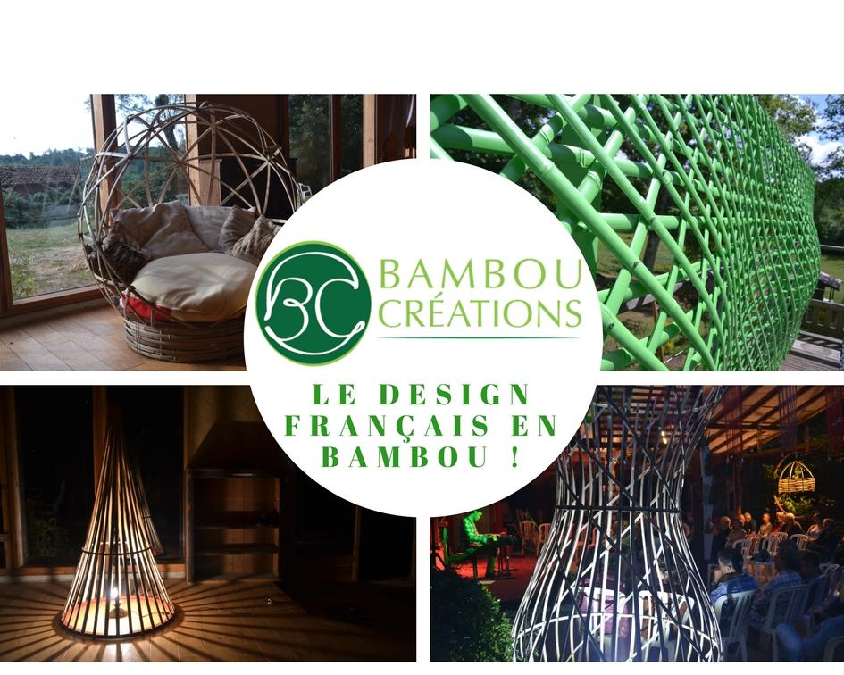Luminaires, paravents, espaces de détente - Bambou créations