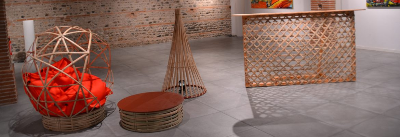 Créations design originales en bambou