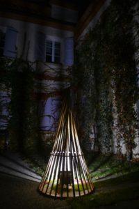 Luminaire tipi - bambou créations