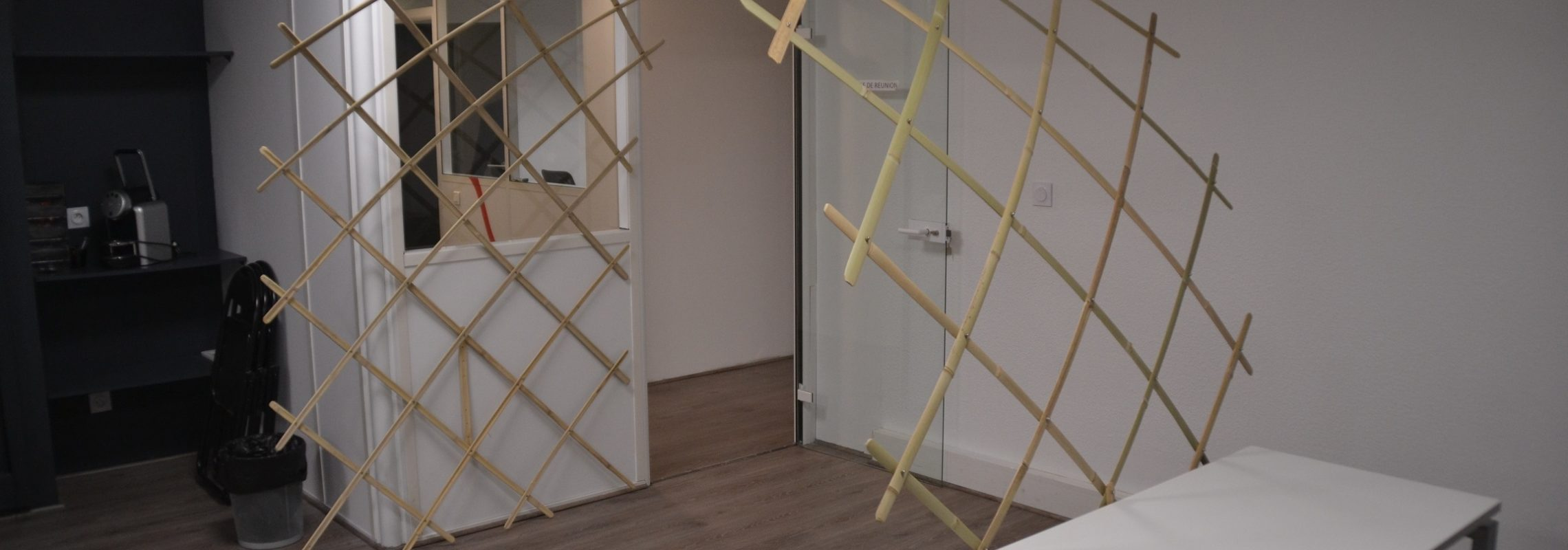 Arche en treillis en bambou, CPME31 - Bambou Créations