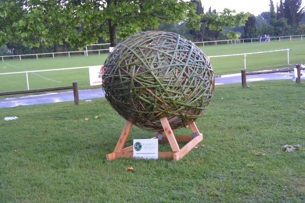 Ballon au tournoi Rugby No Limit - Bambou Créations