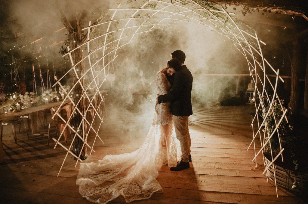 Décorations d'évènements et mariages en lamelles de bambou - Bambou Créations