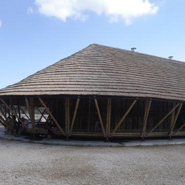 Le 1er bâtiment tout en bambou ouvert au public de France