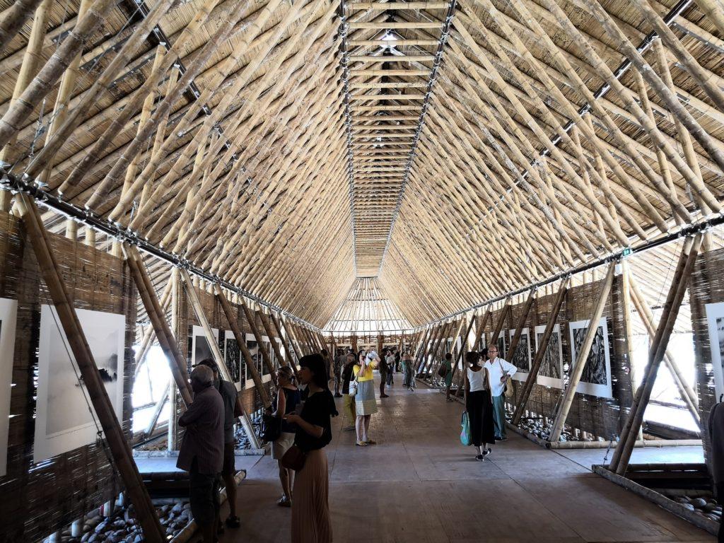 1er Bâtiment en bambou en France - Arles 2018 - Bambou Créations