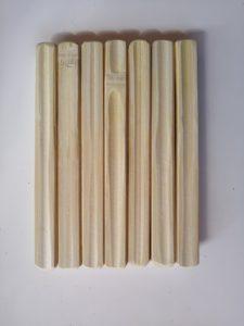 Habillage lamelles de bambou - face intérieure - Bambou Créations