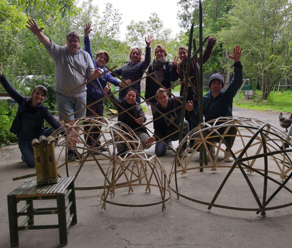 Créations en bambou personnelles des stagiaires - Mai 2021 Bambou Créations