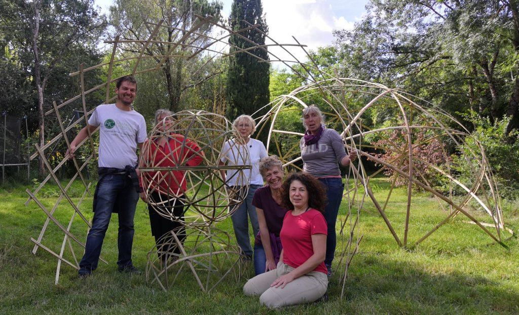 Créations en bambou personnelles des stagiaires - Août 2021 Bambou Créations
