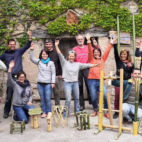 Week-end formation creer son objet en bambou