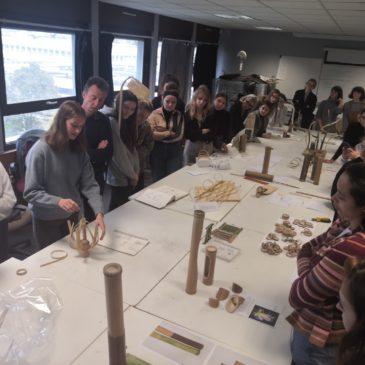 Conférence et Workshop Bambou pour des étudiants d'Art & Design