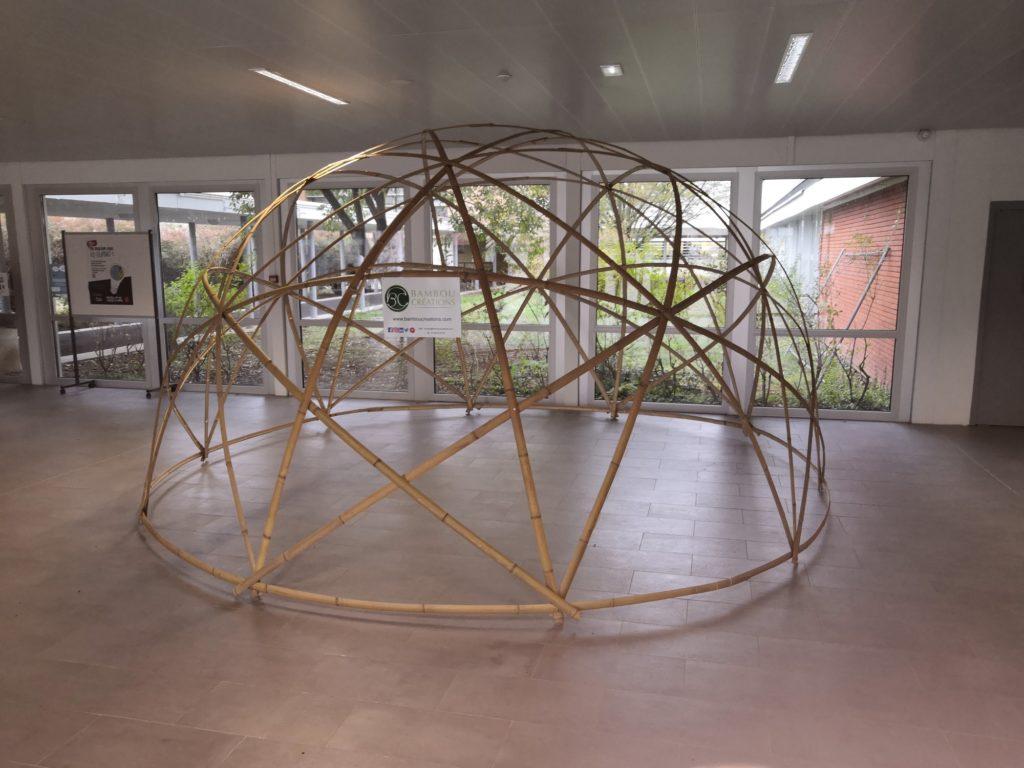 Espace d'exposition en bambou - Bambou Créations