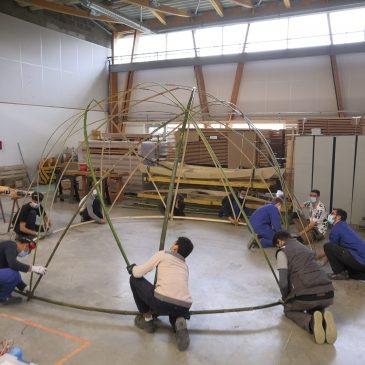 Formation Bambou à l'ESB de Nantes