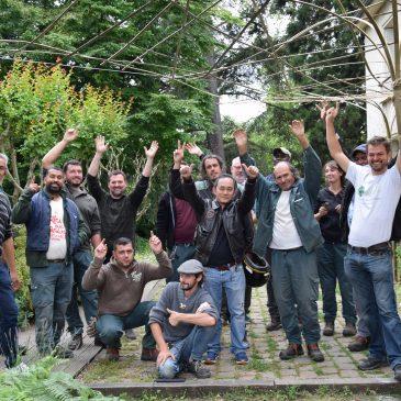 Formation Bambou à l'École du Breuil à Paris